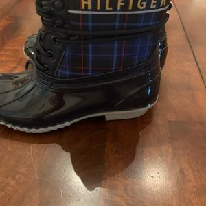 Tommy Hilfiger rain boots, new with tag and box